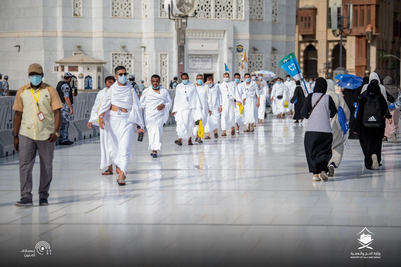 Foto: Jamaah Haji Mulai Berdatangan di Masjidil Haram