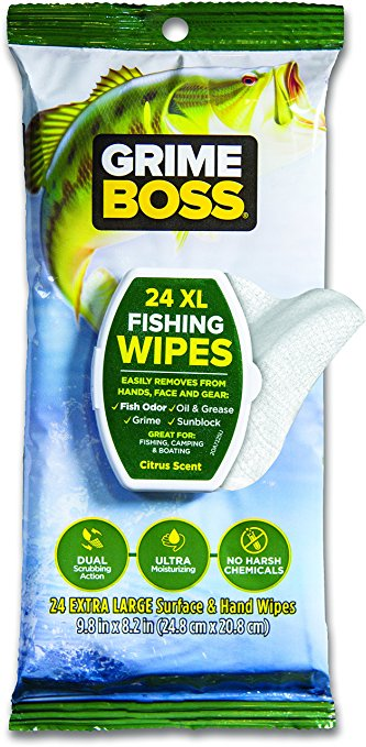 Free grime boss fishing wipes sample profreebies fan for Free fishing samples 2017