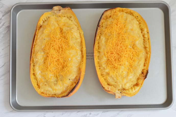 Mac and Cheese Spaghetti Squash @rachmccarthy7