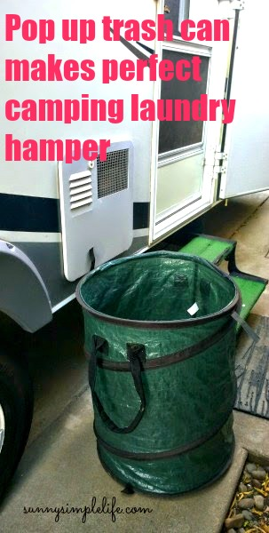 camping laundry hamper