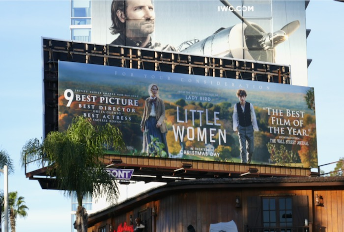 Little Women 9 Critics Choice Awards nominee bilboard