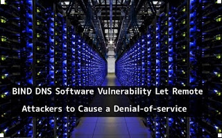 A BIND BIND DNS vulnerability allows remote attackers to cause a denial of service