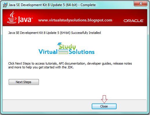 JDK Installation and Configuration Step 2-6