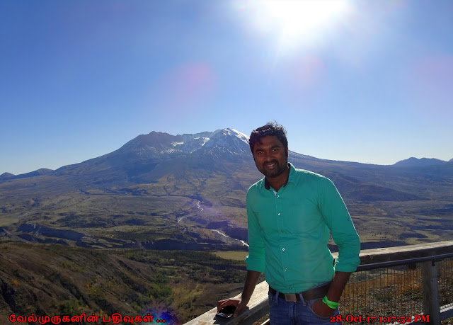 Johnston Ridge Observatory Mount St. Helens