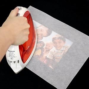 Proceso para crear un rompecabezas con papel transfer en casa