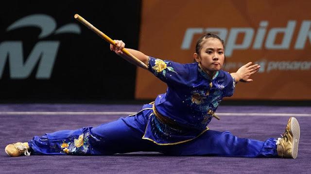 Tambah Emas dari Felda Elvira, Indonesia Peringkat III Kejuaraan Dunia Wushu