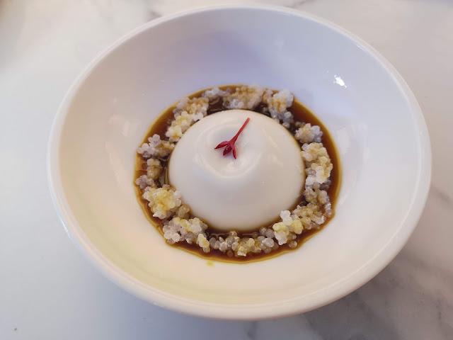 Coconut Pudding with Sago & Gula Melaka