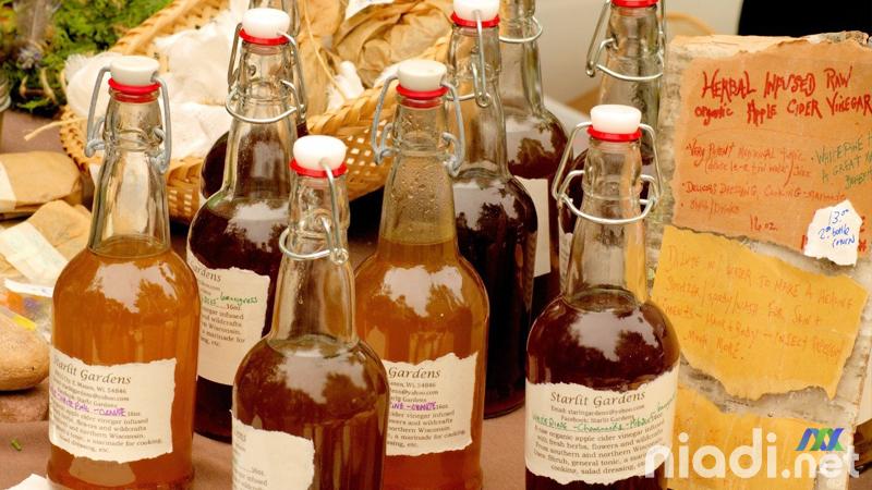 manfaat cuka sari apel untuk asam urat