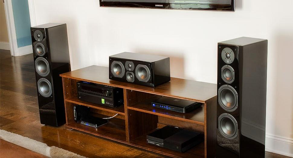 Maxx Audio Visual: Audioholics: SVS Prime Tower & Center