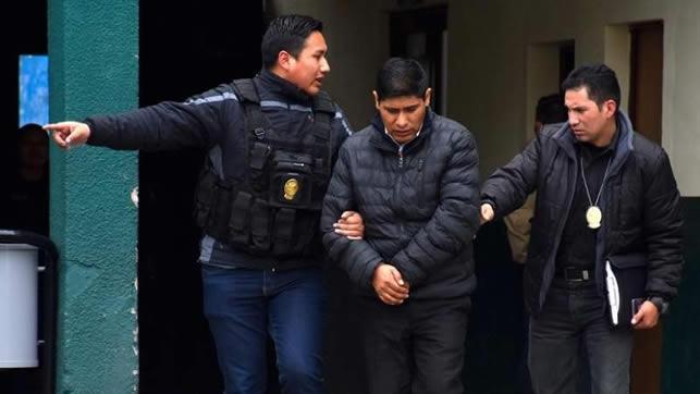 Remiten a la cárcel de San Pedro a exvocal Mamani investigado por fraude electoral
