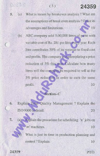 industrial-engineering-may-2013-btech-6th-semester-question-paper