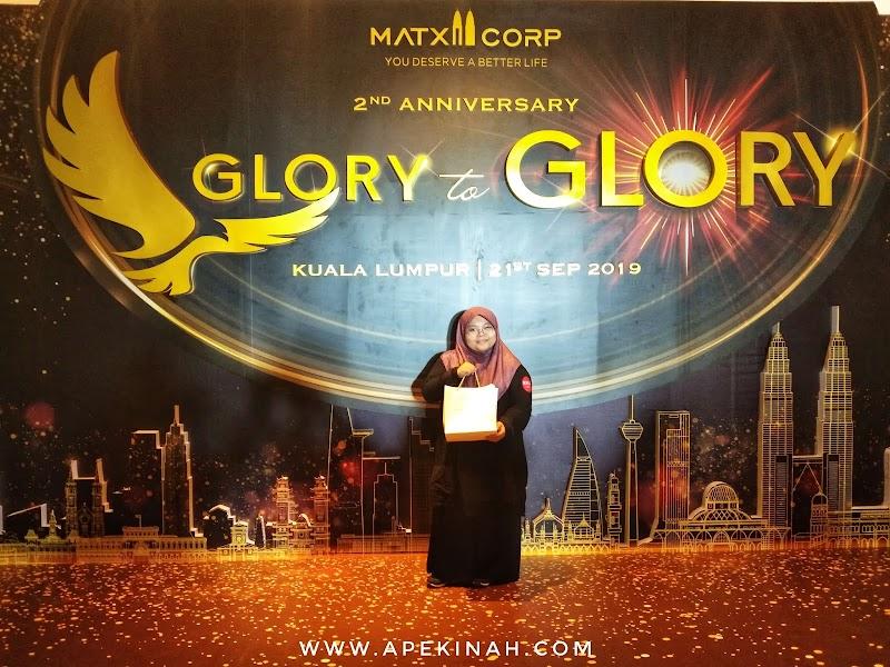 Matxi Corp Menyambut Ulangtahun Ke 2 Dengan Tema Glory To Glory