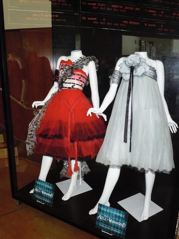 Mia Wasikowska Alice in Wonderland costumes