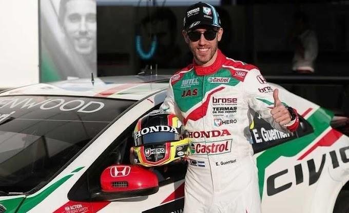 Esteban Guerrieri fue continúa en Honda en el WTCR