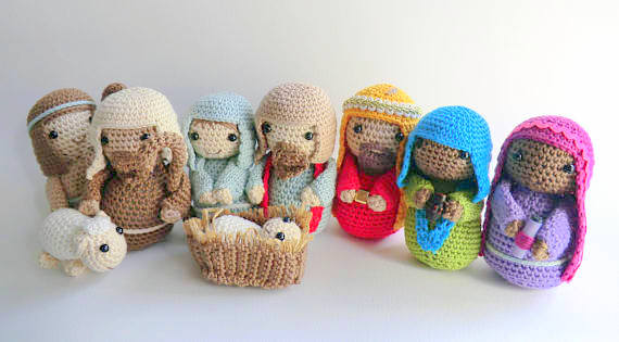 Amigurumi Nativity · How To Make A Nativity Scene · Yarncraft on ... | 315x570