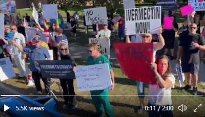 NY healthcare workers protest