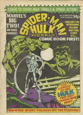 Spider-Man & Hulk Weekly #399, Hulk and Moon Knight