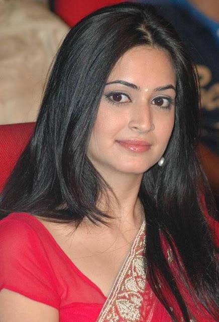Actress Kriti Kharbanda Latest Pics In Red Saree Actress Trend