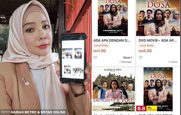'Hati saya sangat marah tengok orang jual filem saya RM1' - Penerbit filem bakal saman portal e-dagang RM50 juta