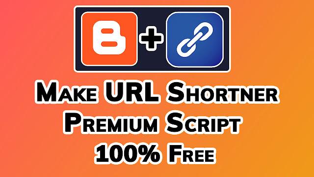Make URL Shortener Website in Blogger Totally Free by Kamran Jaisak