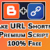 Make URL Shortener Website in Blogger Totally Free by Kamran Jaisak