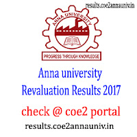 (**Revaluation Published 2017 Nov dec**) for ANNA UNIVERSITY - **New**