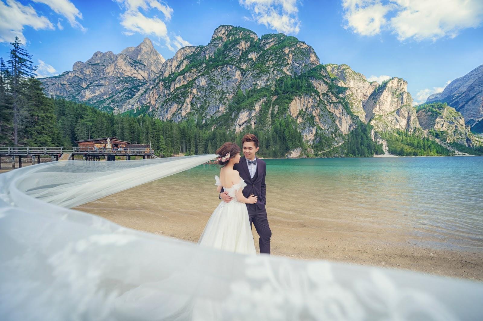 多洛米蒂婚紗 Dolomiti婚紗 富內斯 Val di Funes 仙境婚紗  義大利婚紗 Bolzano 波扎諾 威尼斯婚紗 米蘭羅馬