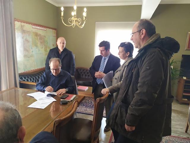 Έργο 1,5 εκατομμυρίου για αποκατάστασης ζημιών σε δρόμους της Αργολίδας υπέγραψε ο Νίκας