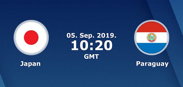 مشاهدة مباراة الباراجواي واليابان بث مباشر اليوم 5-9-2019 في إطار الاستعدادات لكأس العالم 2022.
