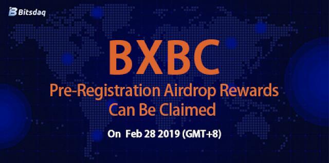 Big Exchange Big Airdrop 1,9159,7500 BXBC to valid participants
