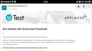 Facebook Study aap link