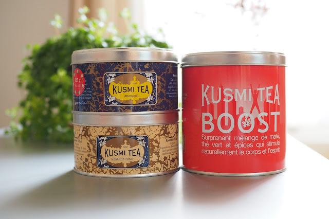 Sélection Kusmi tea et Lov Organic