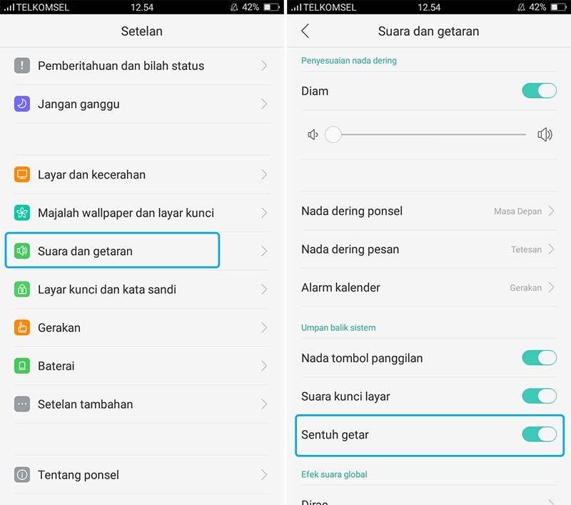 Mematikan Getar Samsung Galaxy S5 Active