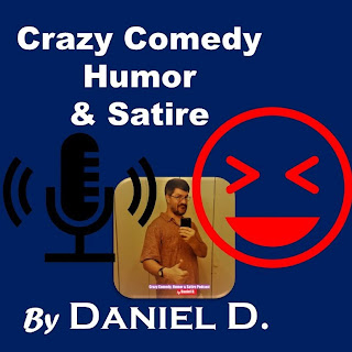 Podcast artwork for The Crazy Comedy, Humor & Satire Podcast by Daniel D: Learn More about Santa's #MeToo Scandal!