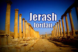 street of columns Jerash