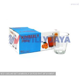 KEDAUNG/ KIG - GELAS SET KIMBERLY (6 PCS) PHT-9F/6-1WBP