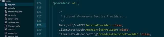 Como instalar DomPDF en Laravel Framework