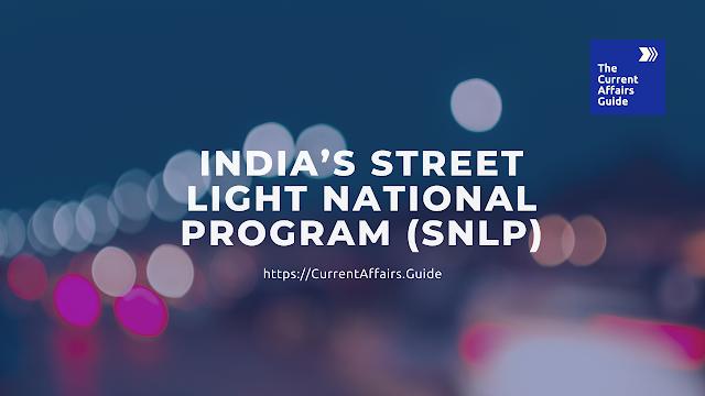 India's Street Light National Program (SNLP)