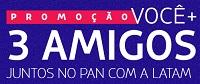 Cadastrar Promoção Latam Juntos no Pan Viagem Peru 3 Amigos Tudo Pago