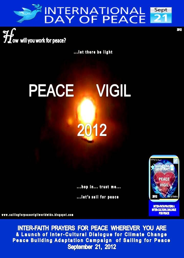 2012 International Day of Peace Vigil by Sailing for Peace