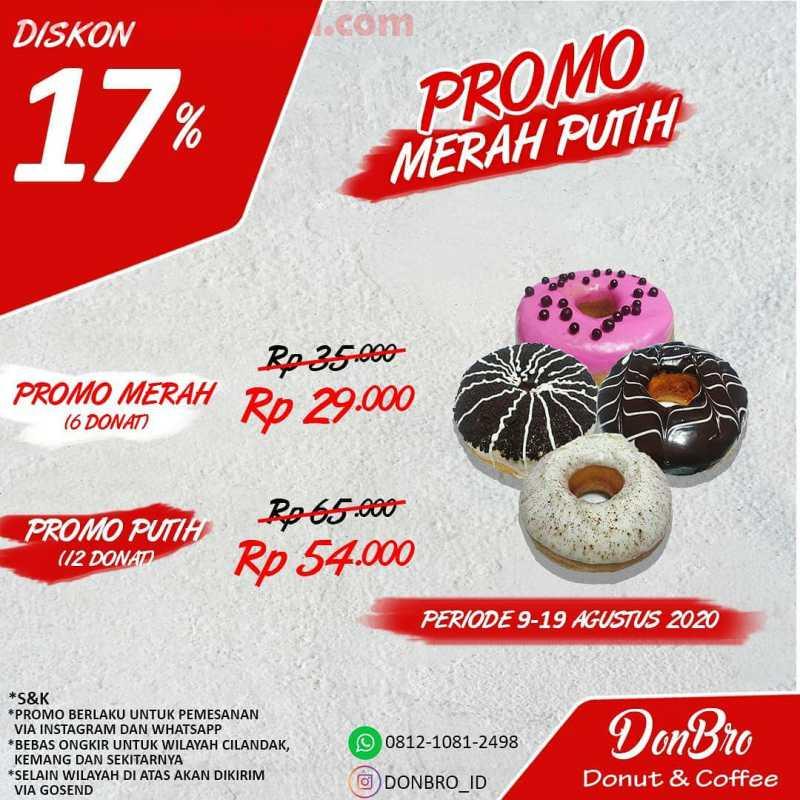 Promo Donbro Donut & Coffee