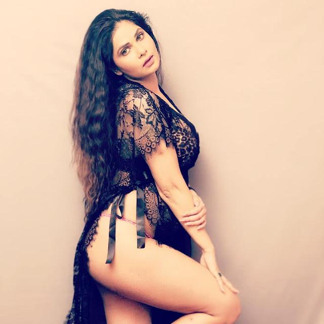 Bollywood Latest Sensation Aabha Paul Latest Hot Pics Navel Queens
