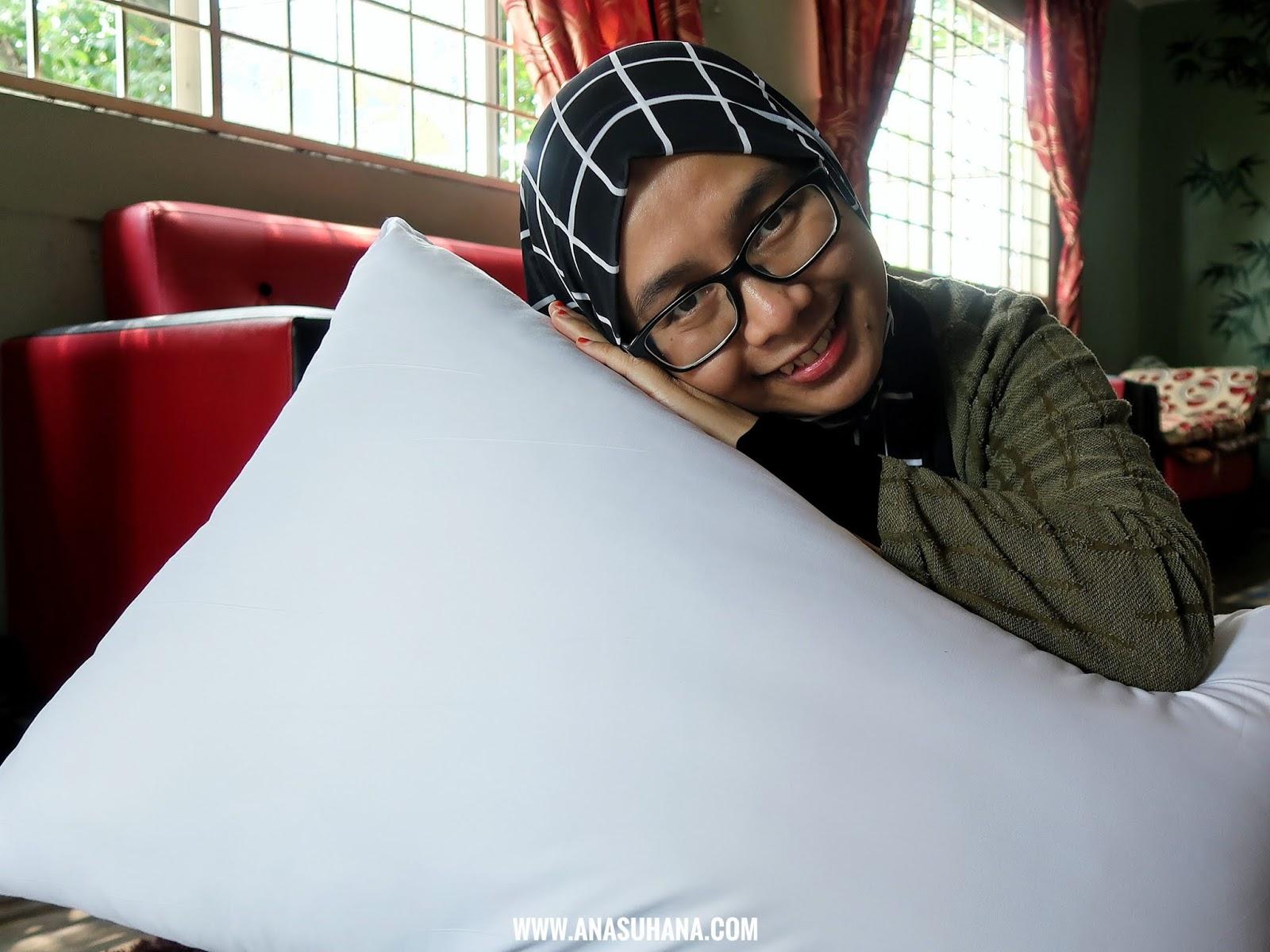 Tidur Lena dan Selesa Dengan Bantal Das Abdul Global (DAG)