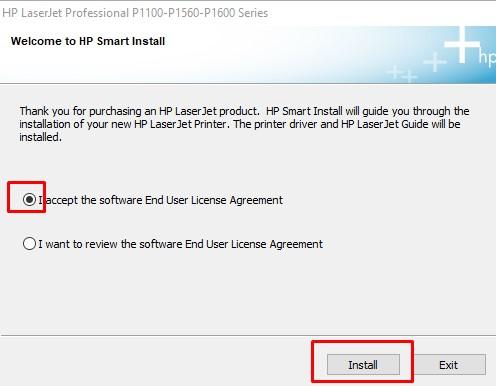 proses instal driver printer hp laserjet p1102