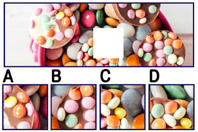 Figure:  Is this your flavorite? Let's see if you can find the missing piece!