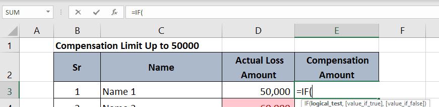 IF formula in excel | अधिकतम वैल्यू को सेट करके कैलकुलेशन | टैक्स रिबेट उदहारण | अधिकतम कीमत की सीमा लगाना |
