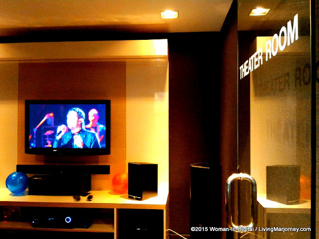 Harman Kardon Theater Room at Fairview Terraces branch