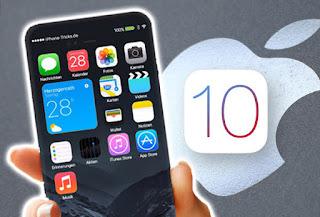 iOS 10 okostelefonra tabletre