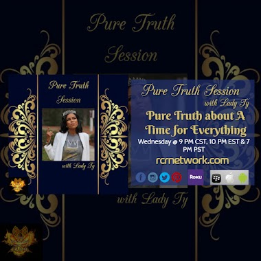 Pure Truth about A Time for Everything Tonight @ 9 PM CST, 10 PM EST & 7 PM PST