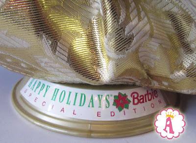 Подставка от куклы барби Happy Holidays Barbie Special Edition 1996
